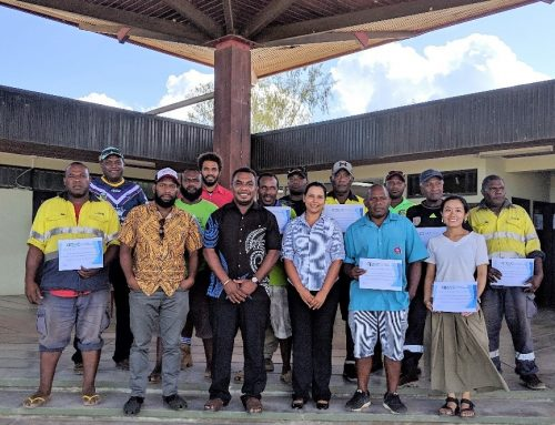 Vanuatu Waste Management Training Development and Delivery
