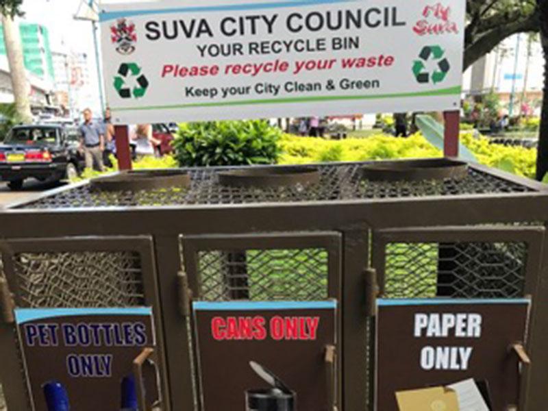 Suva City Council recycling