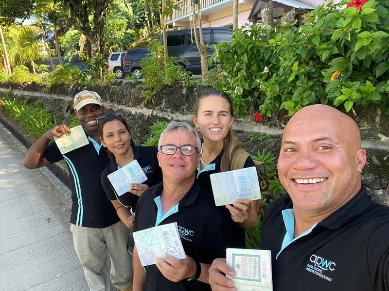 Palau team