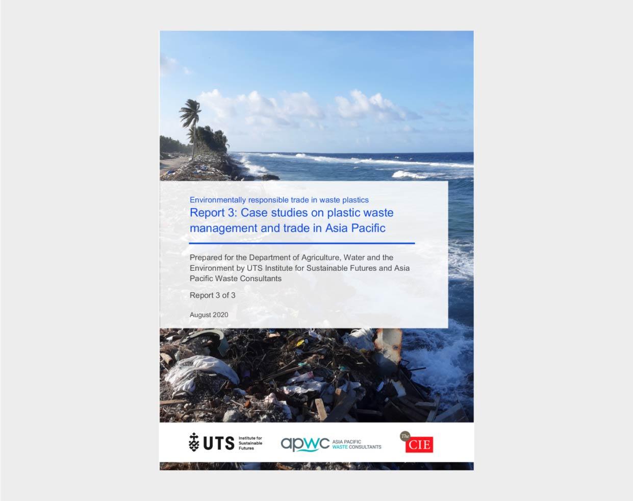 Environmentally responsible trade in waste plastics - Report 3