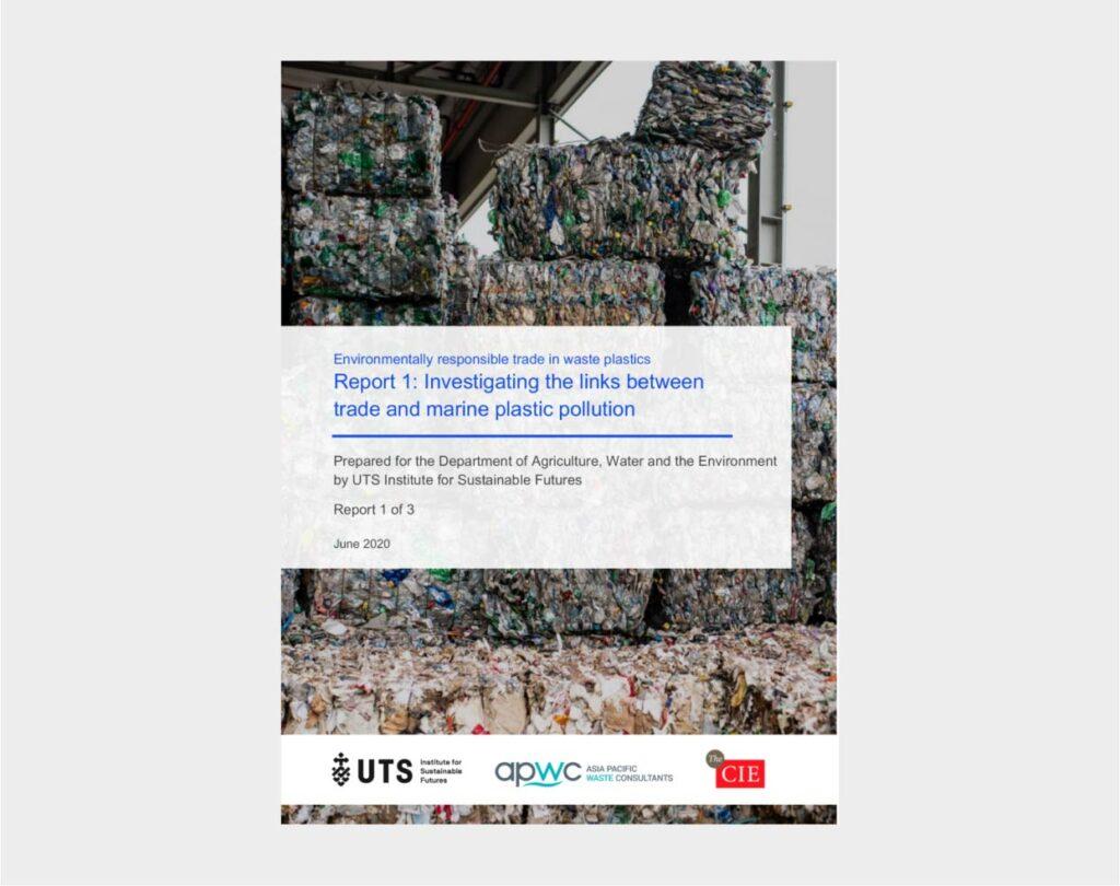 Marine plastic pollution - Report1